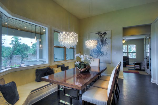 dining room decorating ideas and designs Remodels Photos Adam Wilson Custom Homes San Antonio Texas United States contemporary-dining-room-001