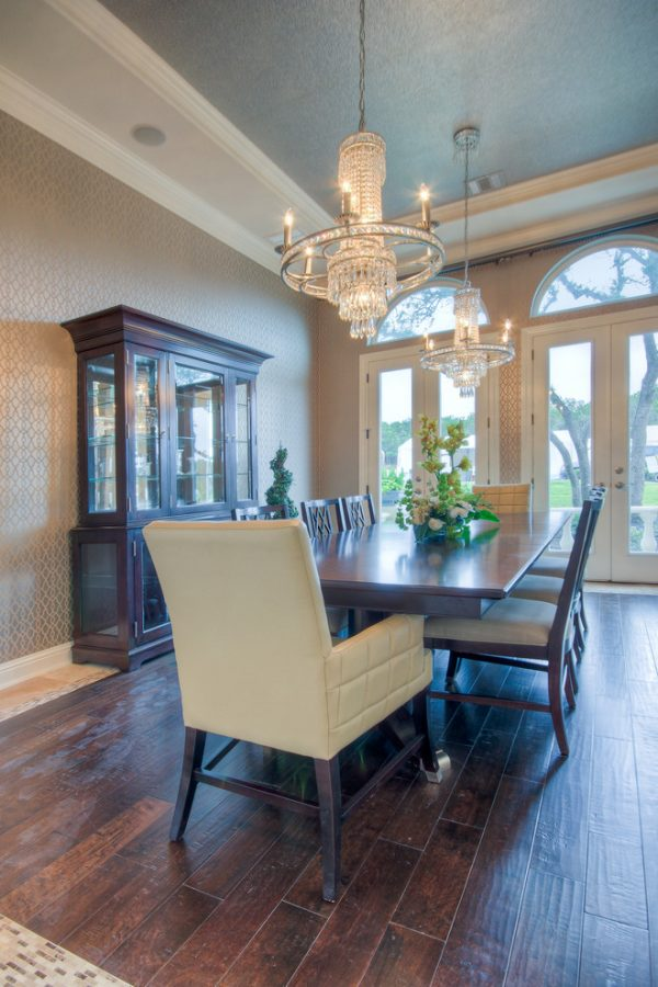 dining room decorating ideas and designs Remodels Photos Adam Wilson Custom Homes San Antonio Texas United States traditional-dining-room