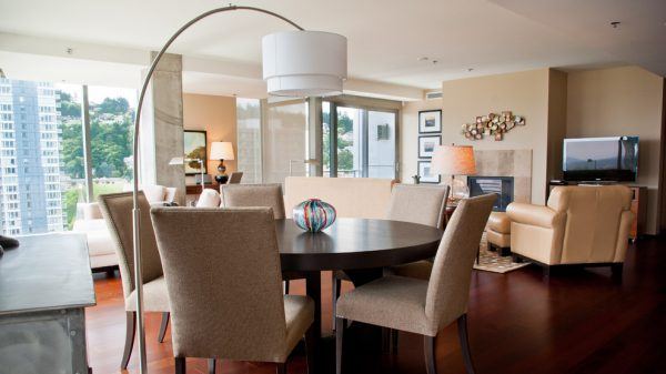 dining room decorating ideas and designs Remodels Photos Amy Troute Inspired Interior Design Portland Oregon United States contemporary-living-room