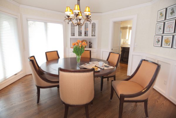 dining room decorating ideas and designs Remodels Photos Amy Troute Inspired Interior Design Portland Oregon United States traditional-dining-room-003