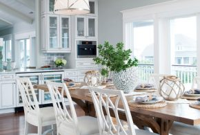 Dining Room Decorating and Designs by Amy Tyndall Design - Wilmington, North Carolina, United States