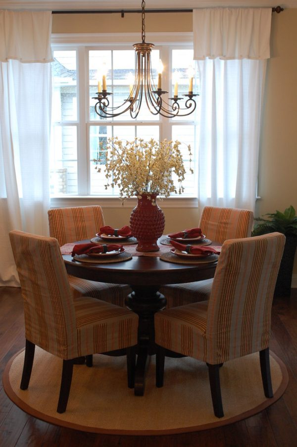 dining room decorating ideas and designs Remodels Photos Amy Tyndall Design Wilmington, NC Carolina United States traditional-dining-room-002