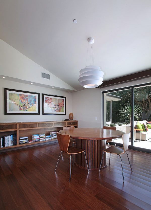 dining room decorating ideas and designs Remodels Photos Anders Lasater Architects Laguna Beach California United States midcentury-dining-room-001