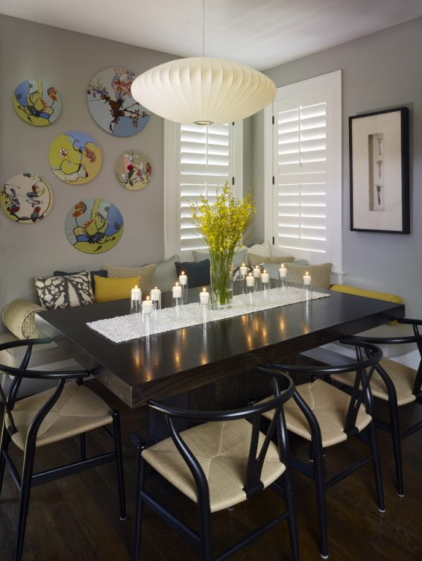 dining room decorating ideas and designs Remodels Photos Andrea Schumacher Interiors Denver Colorado United States contemporary-dining-room-002