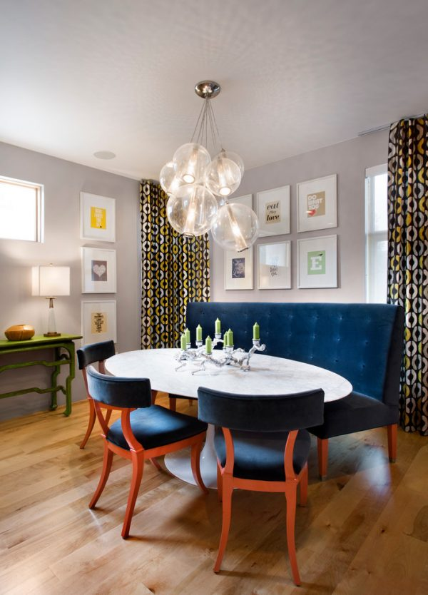 dining room decorating ideas and designs Remodels Photos Andrea Schumacher Interiors Denver Colorado United States contemporary-dining-room