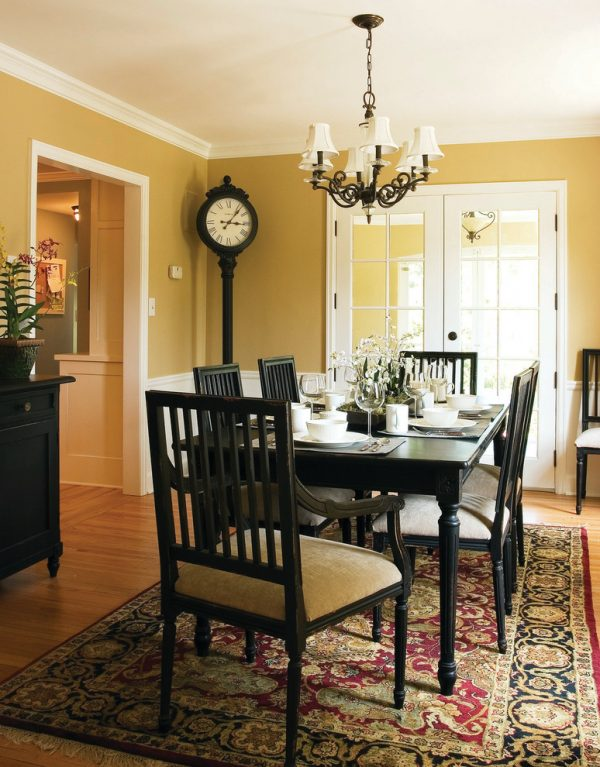 dining room decorating ideas and designs Remodels Photos Anna Berglin Design Saint Louis Park Minnesota United States traditional-dining-room-002
