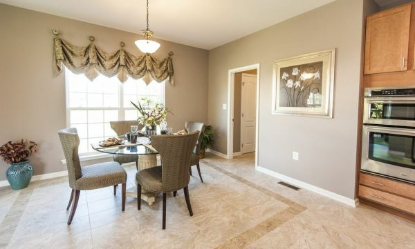 dining room decorating ideas and designs Remodels Photos Architectural Ceramics, Inc Rockville Maryland United States traditional-dining-room-001