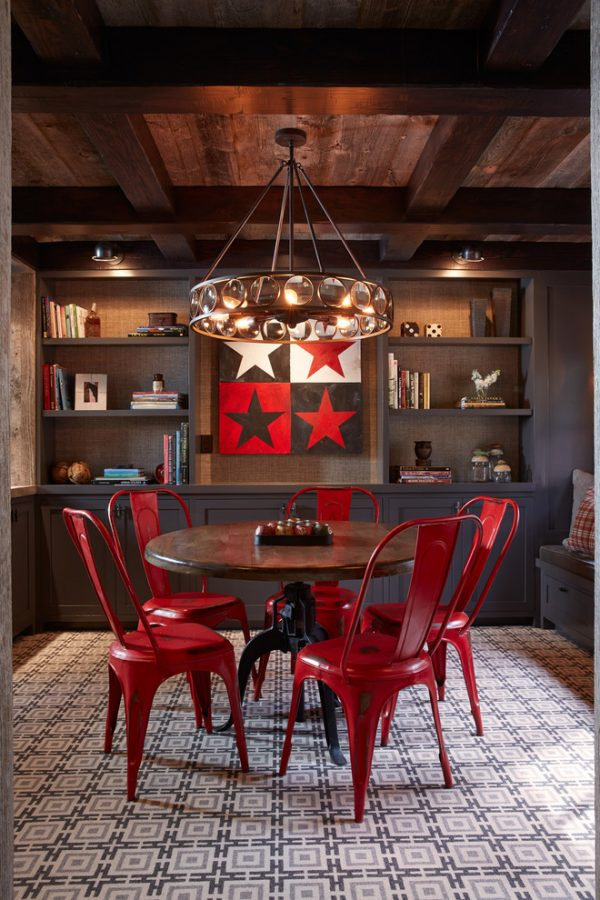 dining room decorating ideas and designs Remodels Photos Artistic Designs for Living San Francisco California United States rustic-dining-room-001