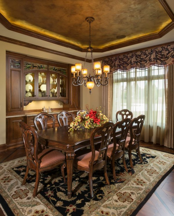 dining room decorating ideas and designs Remodels Photos Ascent Custom Homes Waukesha Wisconsin United States traditional-dining-room-004