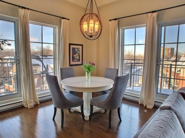 dining room decorating ideas and designs Remodels Photos Avalon Interiors Thornhill Ontario Canada contemporary-living-room