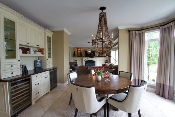 dining room decorating ideas and designs Remodels Photos Avalon Interiors Thornhill Ontario Canada traditional-kitchen-002