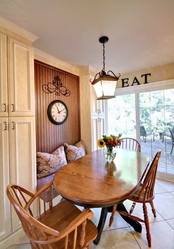 dining room decorating ideas and designs Remodels Photos Avalon Interiors Thornhill Ontario Canada traditional-kitchen