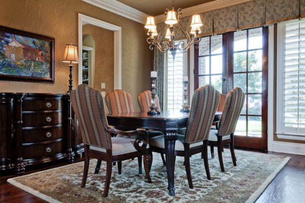 dining room decorating ideas and designs Remodels Photos Barbara Gilbert Interiors Dallas Texas United States traditional-dining-room-002