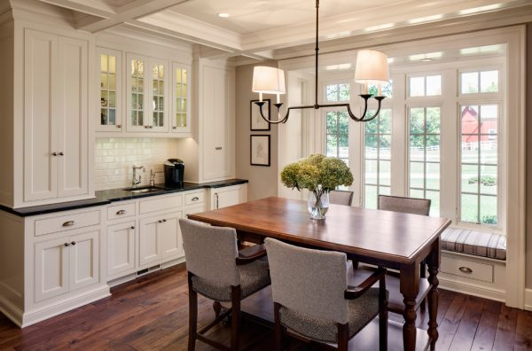dining room decorating ideas and designs Remodels Photos Bartelt Delafield Wisconsin United States farmhouse-dining-room