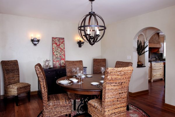 dining room decorating ideas and designs Remodels Photos Bartelt Delafield Wisconsin United States rustic-dining-room
