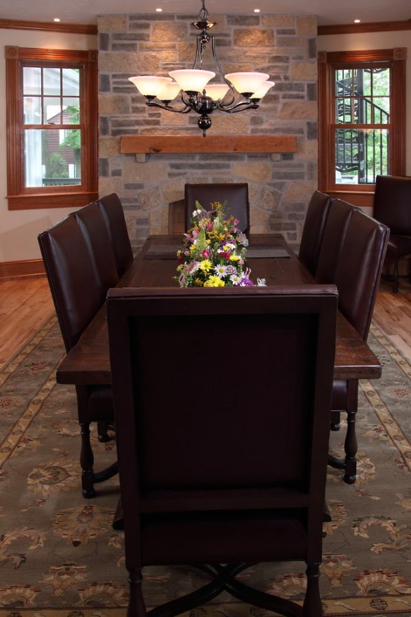 dining room decorating ideas and designs Remodels Photos Bartelt Delafield Wisconsin United States traditional-dining-room-004