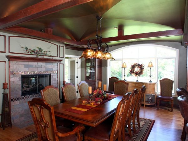dining room decorating ideas and designs Remodels Photos Bartelt Delafield Wisconsin United States traditional-dining-room-007