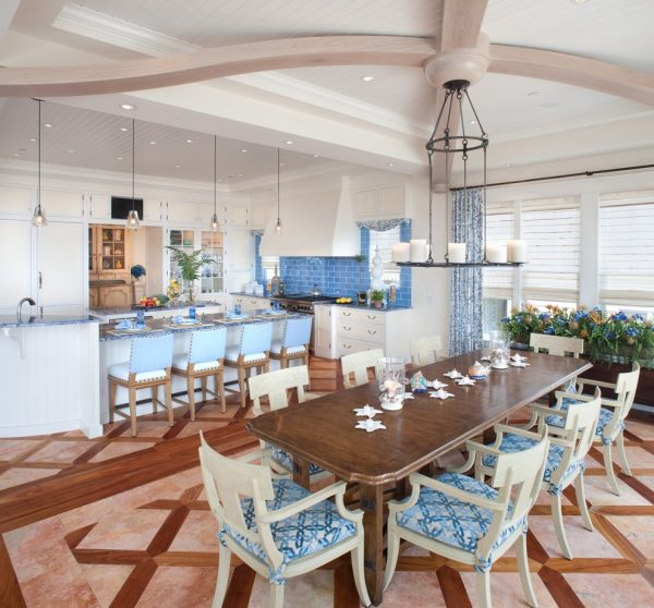 dining room decorating ideas and designs Remodels Photos Bruce Palmer Design Studio Wilmington Delaware United States beach-style-dining-room