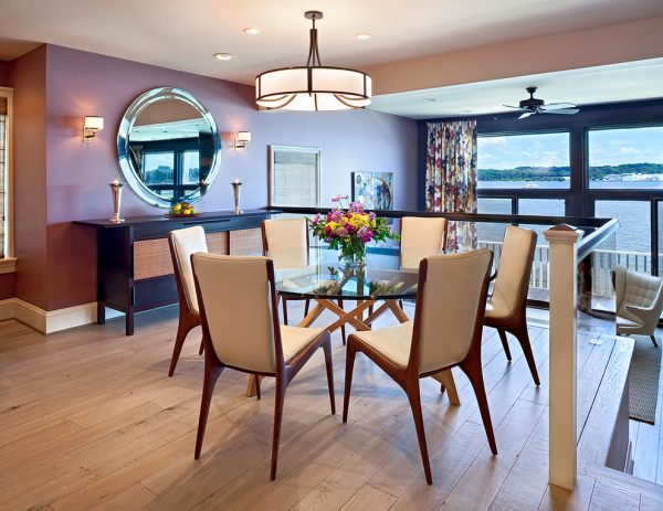 dining room decorating ideas and designs Remodels Photos Bruce Palmer Design Studio Wilmington Delaware United States contemporary-dining-room-001