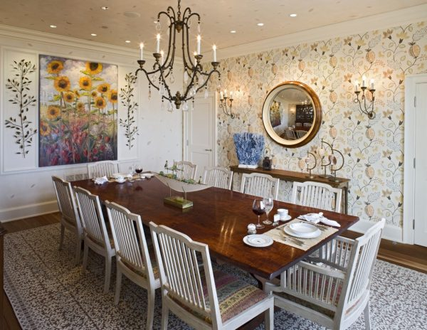 dining room decorating ideas and designs Remodels Photos Bruce Palmer Design Studio Wilmington Delaware United States traditional-dining-room-002
