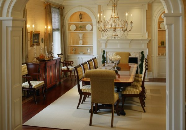 dining room decorating ideas and designs Remodels Photos Bruce Palmer Design Studio Wilmington Delaware United States traditional-dining-room-003