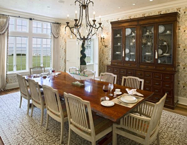 dining room decorating ideas and designs Remodels Photos Bruce Palmer Design Studio Wilmington Delaware United States traditional-dining-room-004