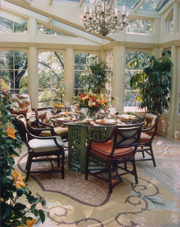 dining room decorating ideas and designs Remodels Photos Bruce Palmer Design Studio Wilmington Delaware United States traditional-patio