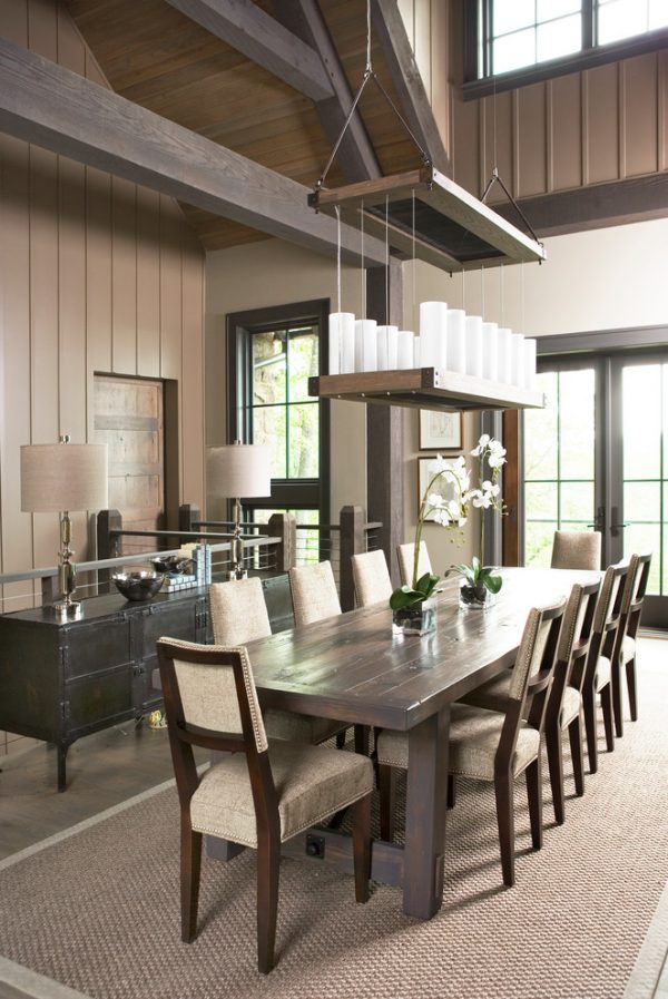 dining room decorating ideas and designs Remodels Photos Johnston Design Group Greenville South Carolina United States contemporary-dining-room-002