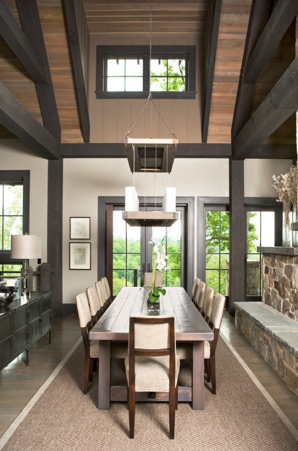 dining room decorating ideas and designs Remodels Photos Johnston Design Group Greenville South Carolina United States contemporary-dining-room-005