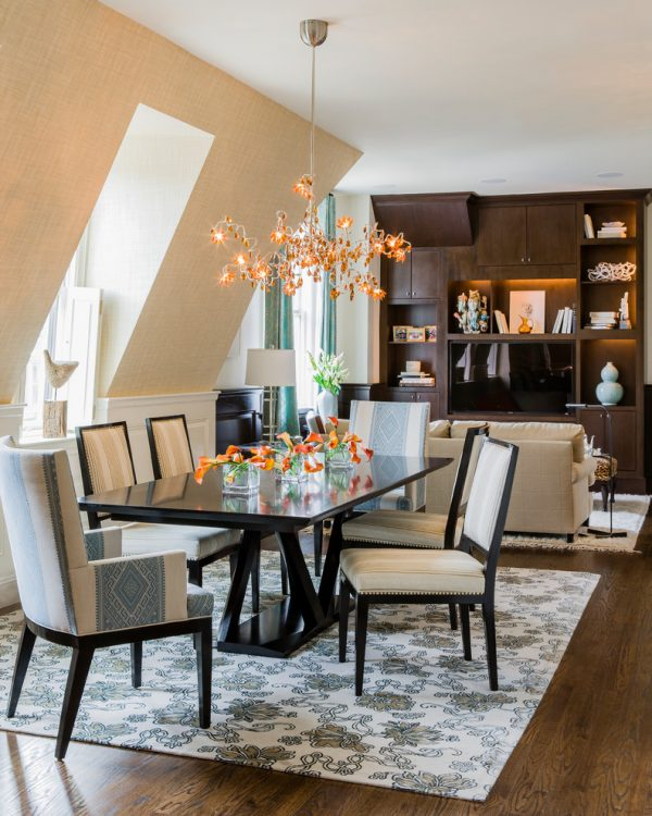 dining room decorating ideas and designs Remodels Photos S+H Construction Cambridge Massachusetts United States contemporary-dining-room-002