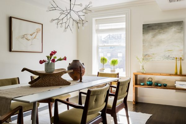 dining room decorating ideas and designs Remodels Photos S+H Construction Cambridge Massachusetts United States transitional-dining-room