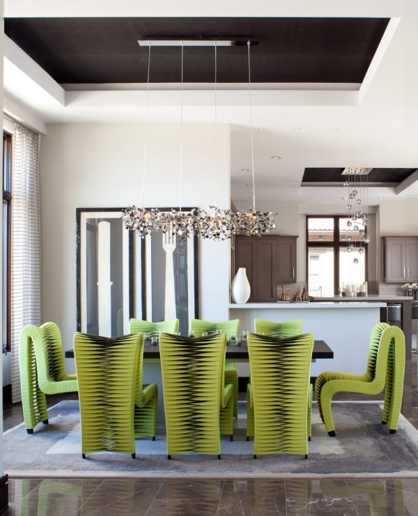 dining room decorating ideas and designs Remodels Photos ashley campbell interior design Denver Colorado United States contemporary-dining-room-005