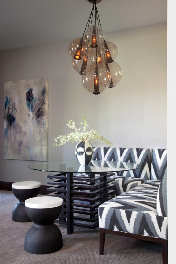 dining room decorating ideas and designs Remodels Photos ashley campbell interior design Denver Colorado United States contemporary-dining-room