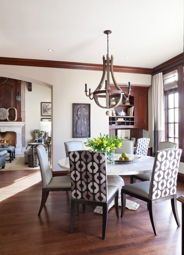 dining room decorating ideas and designs Remodels Photos ashley campbell interior design Denver Colorado United States traditional-dining-room