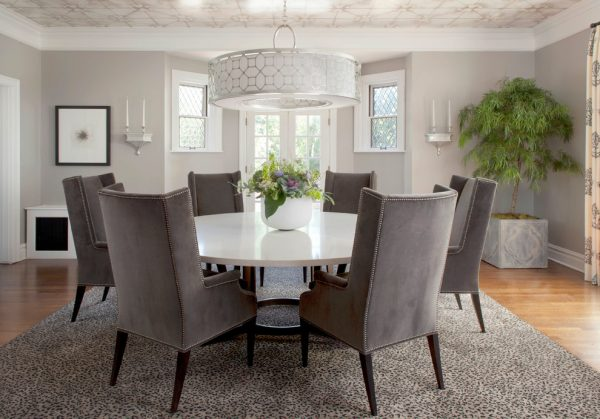 dining room decorating ideas and designs Remodels Photos ashley campbell interior design Denver Colorado United States transitional