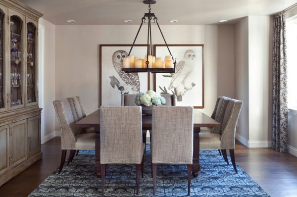 dining room decorating ideas and designs Remodels Photos ashley campbell interior design Denver Colorado United States transitional-dining-room