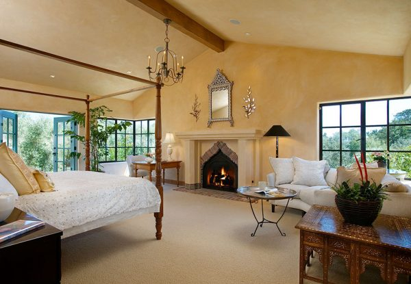 bedroom decorating ideas designs Maienza Wilson Interior Design Architecture Santa Barbara California United States traditional-bedroom-1