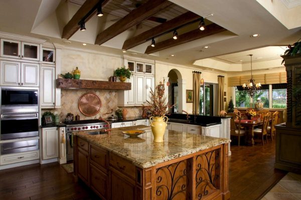 kitchen decorating ideas and designs Remodels Photos 41 West Naples Florida United States mediterranean-kitchen-002