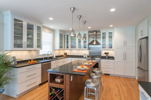 kitchen decorating ideas and designs Remodels Photos ART Design Build Bethesda Maryland United States contemporary-kitchen-002