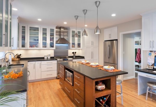 kitchen decorating ideas and designs Remodels Photos ART Design Build Bethesda Maryland United States contemporary-kitchen-004
