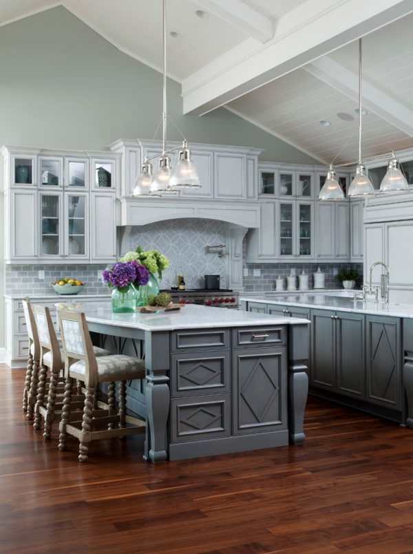 kitchen decorating ideas and designs Remodels Photos Amy Tyndall Design Wilmington, NC Carolina United States beach-style-kitchen-001