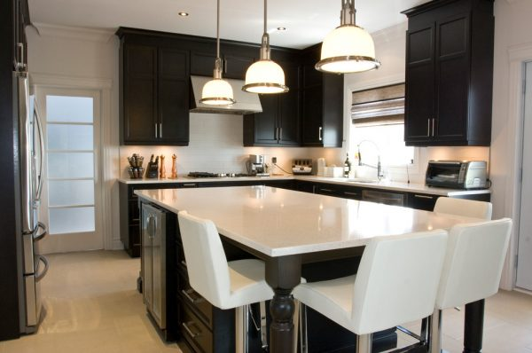 kitchen decorating ideas and designs Remodels Photos Audacia Design Downsview Kitchens Mount Royal Québec, Canada United States contemporary-kitchen-015