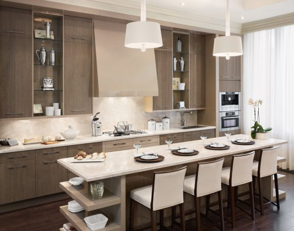kitchen decorating ideas and designs Remodels Photos Audacia Design Downsview Kitchens Mount Royal Québec, Canada United States contemporary-kitchen-017