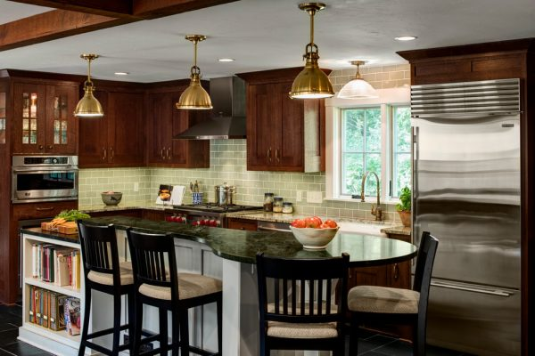 kitchen decorating ideas and designs Remodels Photos Bartelt Delafield Wisconsin United States eclectic-kitchen