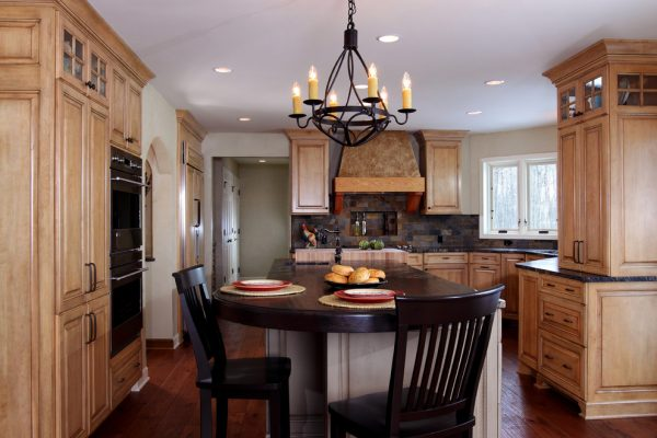 kitchen decorating ideas and designs Remodels Photos Bartelt Delafield Wisconsin United States rustic-kitchen