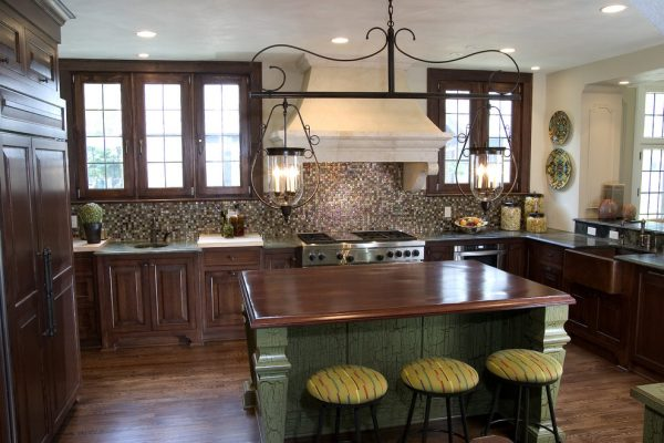 kitchen decorating ideas and designs Remodels Photos Bartelt Delafield Wisconsin United States traditional-kitchen-001