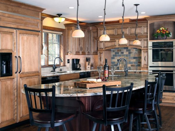 kitchen decorating ideas and designs Remodels Photos Bartelt Delafield Wisconsin United States traditional-kitchen-005