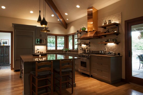 kitchen decorating ideas and designs Remodels Photos Tina Barclay Lake Oswego Oregon United States contemporary-kitchen