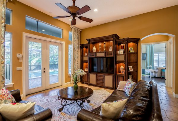 living room decorating ideas and designs Remodels Photos A.Clore Interiors Sanford Florida United States contemporary-family-room-001