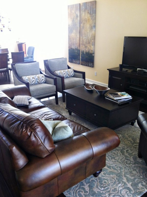living room decorating ideas and designs Remodels Photos A.Clore Interiors Sanford Florida United States contemporary-living-room